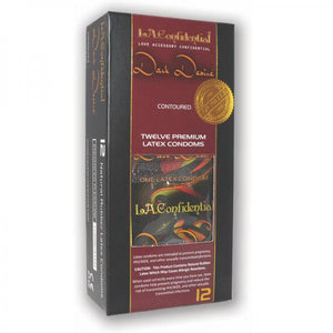 L.A. Confidential Dark Desire Latex Condoms 12 Pack