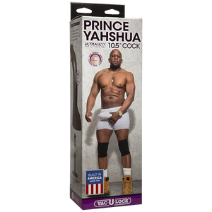 Prince Yahshua Ultra Skyn 10.5 inches Chocolate Dildo