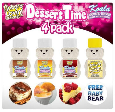 Dessert Time 4 Pack Lubricants