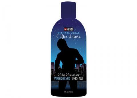 Lubricants- Lucas Water Based Lubricant 8 oz by Topco Sales- Clear 6.3 X 2.5 in.  Made in USA