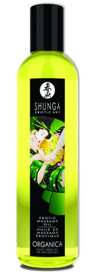 Sensual Massage- Shunga Organica Erotic Massage Oil Exotic Green Tea 8oz by Shunga Erotic Art-   X  in.  Paraben Free