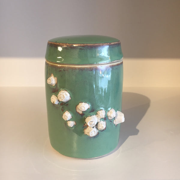 Barnacle sea foam Tea Jar