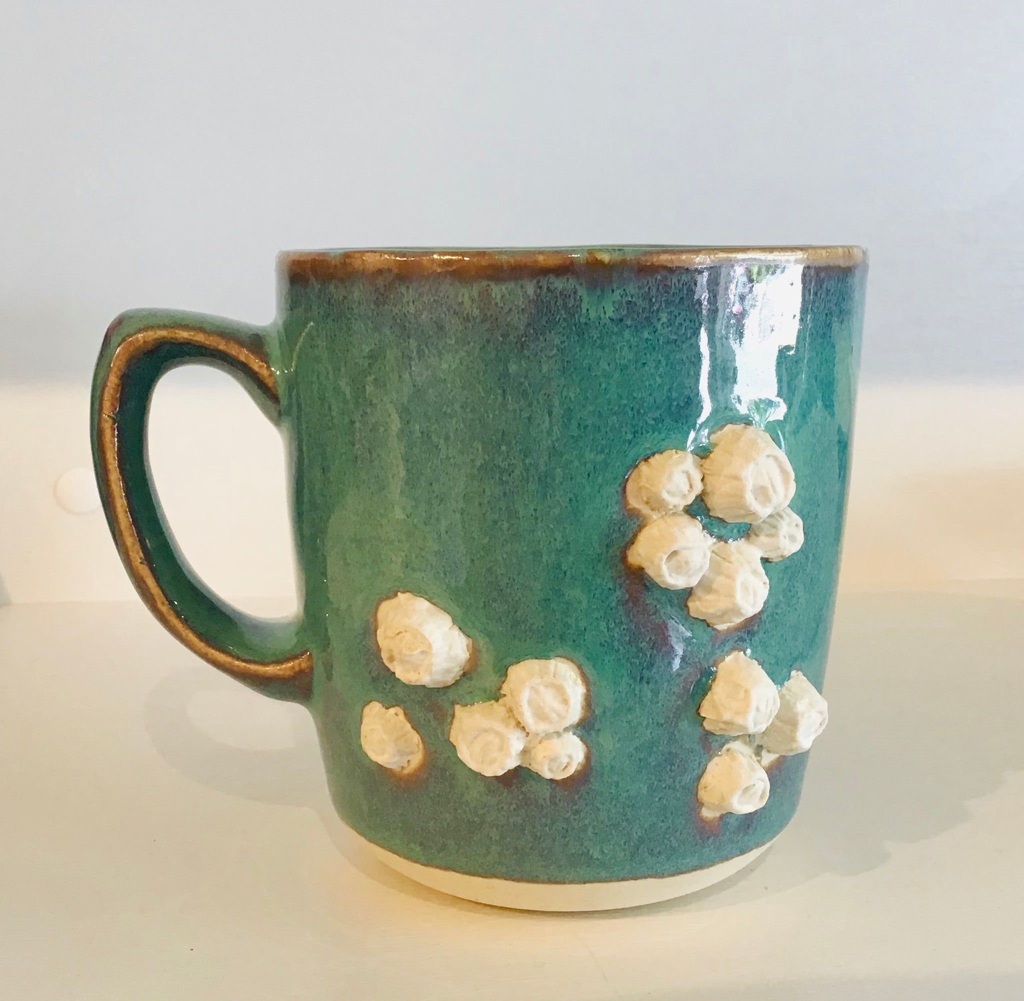 Tide pool barnacle mug