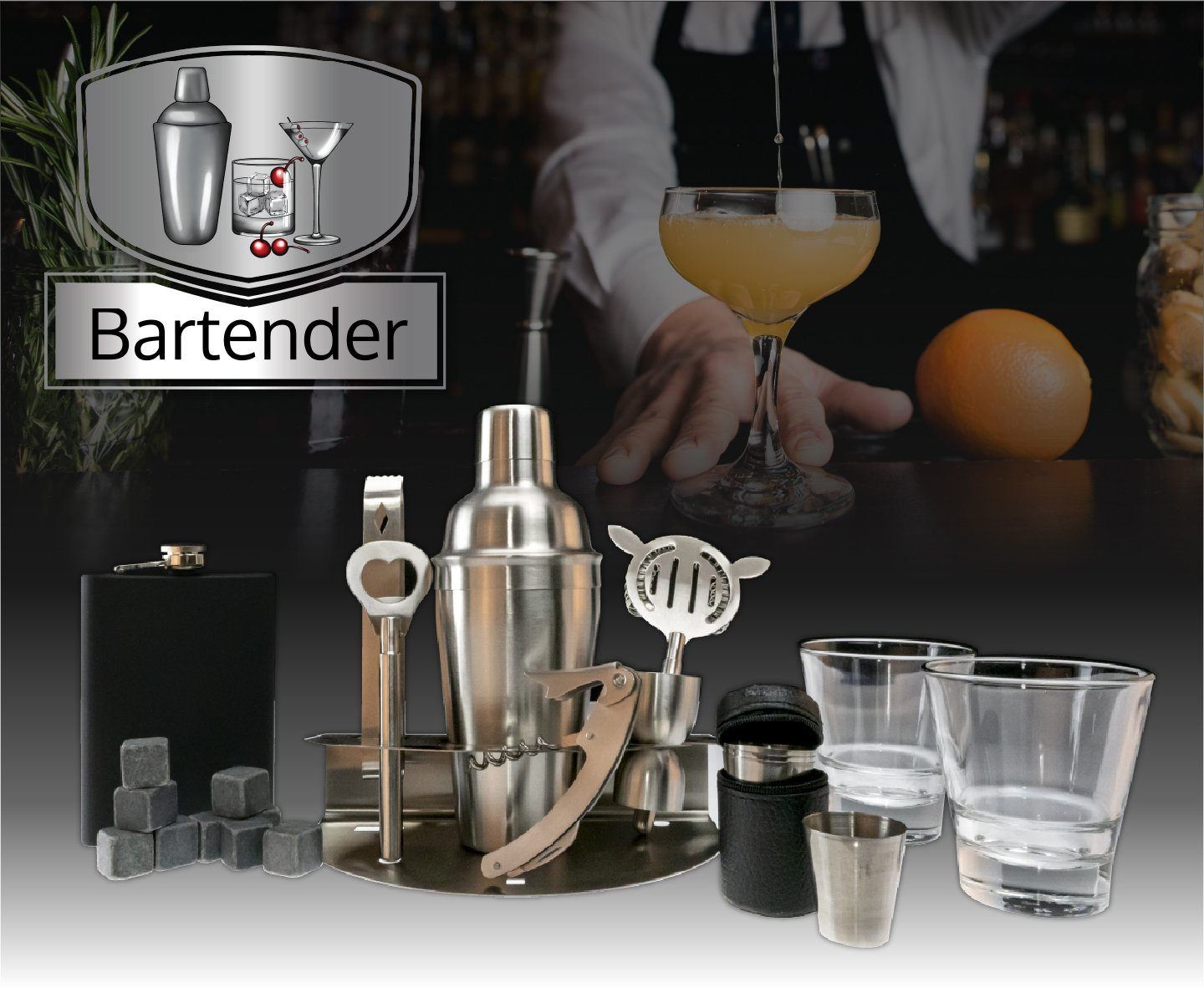 Jake Gamble - Bartender: Plus+ Pack