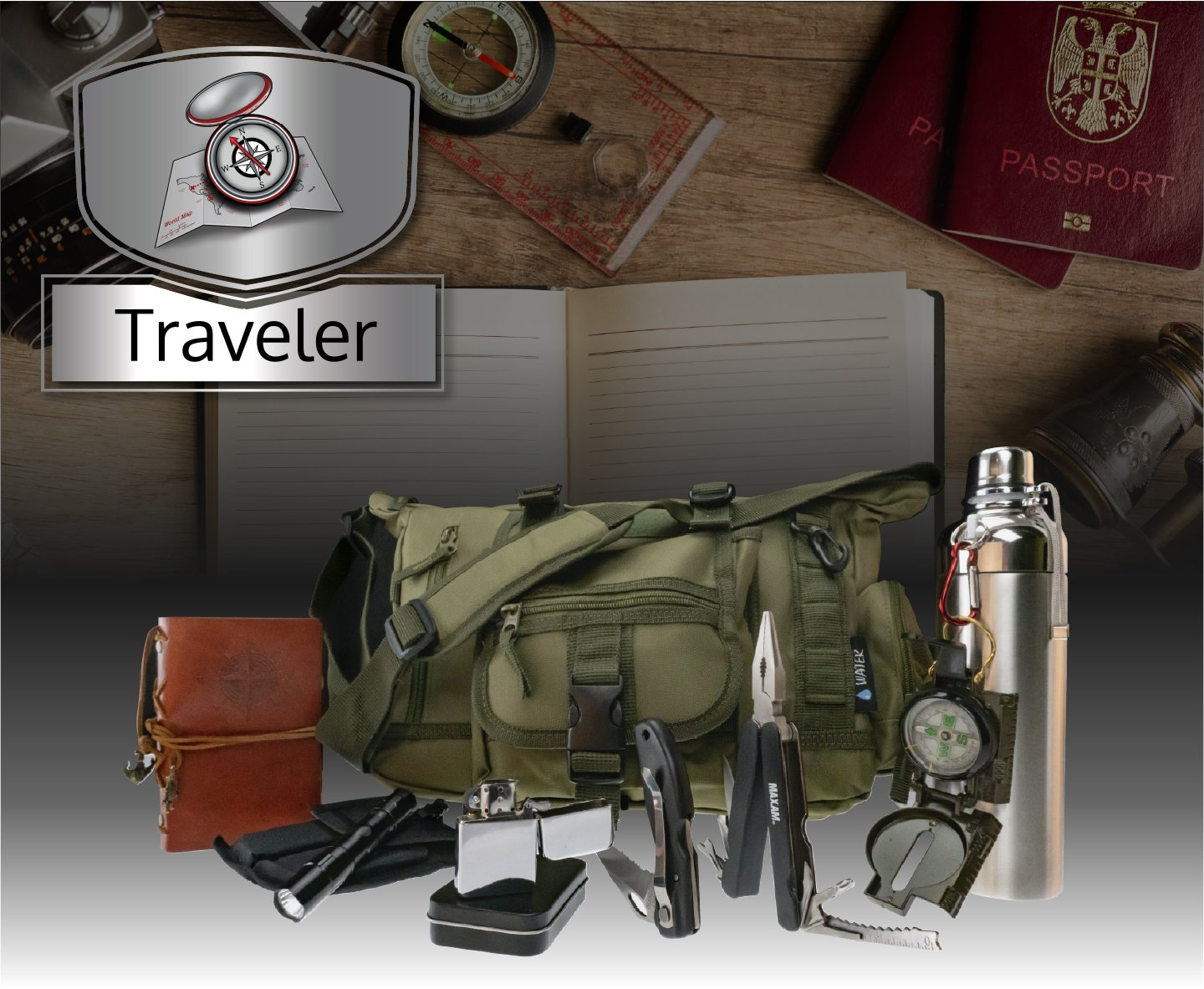 Traveler: Plus+ Pack