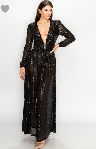 Sparkle and Shine Dress/ Duster