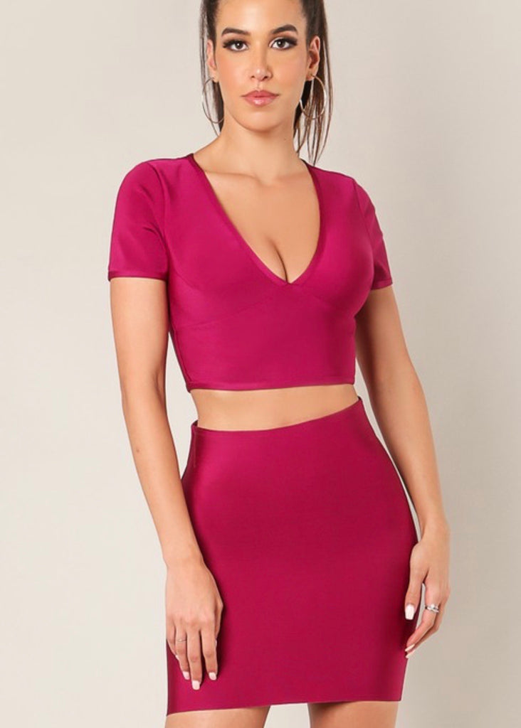 Wine Shoestring top