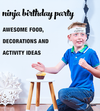 Ninja Birthday Party Food Decorations Activities Bee Box Parties
