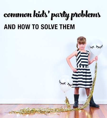 Common Kids' Party Dilemmas and How to Survive Them
