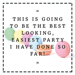 Testimonials Easiest Party so Far Bee Box Parties