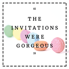 Testimonials Gorgeous Invitations Party Supplies Bee Box Parties