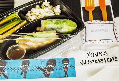 Bee Box Parties Ninja Bento Box