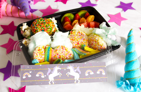 Bee Box Parties Unicorn Bento Box