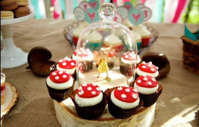 Bee Box Parties Fairy Party Cupcakes