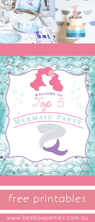 bee box parties best 5 mermaid madness