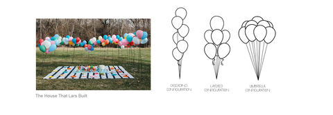 bee box parties balloon placement images