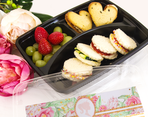 Bee Box Parties Princess Bento Box
