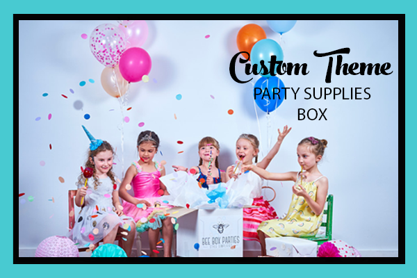 DESIGN YOUR OWN PARTY SUPPLIES BOX