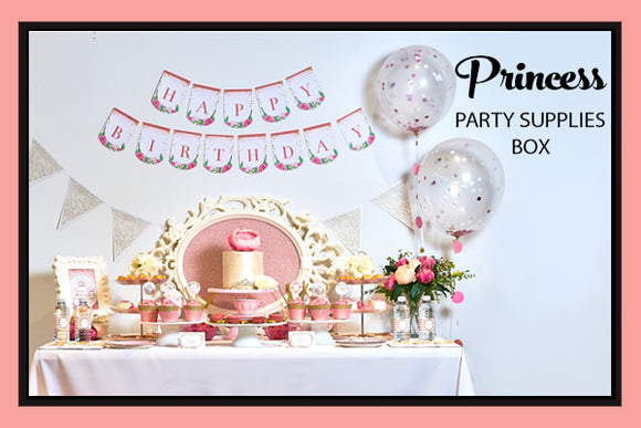 Princess Party Supplies Ideas Decorations Printables Favours Bee Box Parties