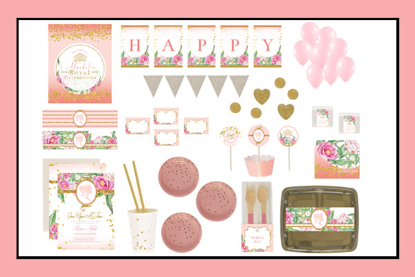 Princess Party Supplies Ideas Luxe Box Opion Products Decorations Printables Favours