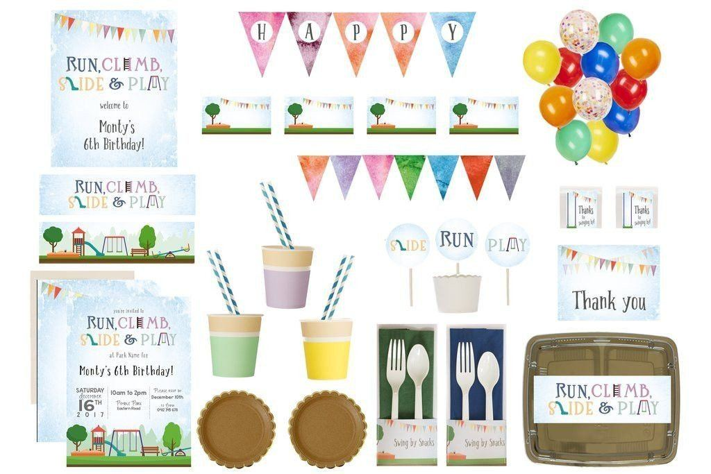 Playground Party Supplies Bee Box Overview