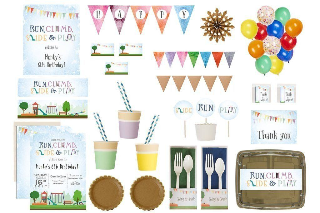 Playground Party Supplies Luxe Box Overview