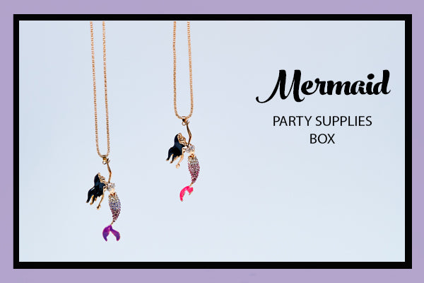 Mermaid Party Supplies Ideas Necklace Favours Bee Box Parties