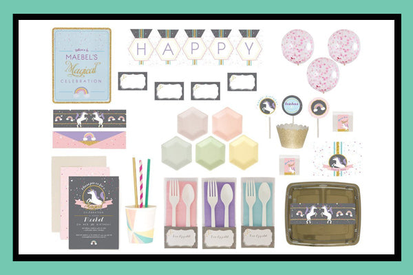 Unicorn Party Supplies Ideas Bee Box Products Bee Box Parties
