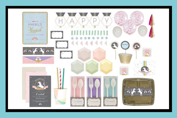 Unicorn Party Supplies Ideas Luxe Box Products Bee Box Parties