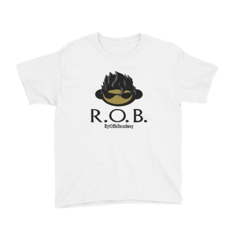 ROBii tshirt for babies 0-6months