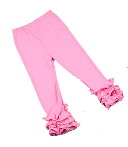 Girls Ruffle leggings
