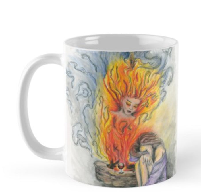 She Is Fire mug