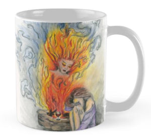 She Is Fire mug - Nora Catherine