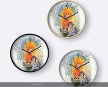 She is Fire goddess Wall Clock - Nora Catherine