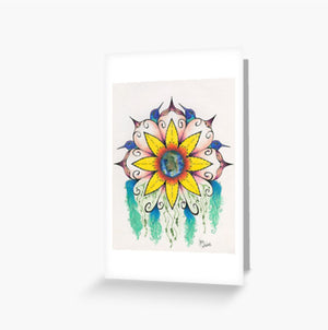 Symphony of Summer greeting cards and postcard - Nora Catherine