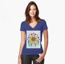 Symphony of Summer Woman's Fitted T-Shirt - Nora Catherine