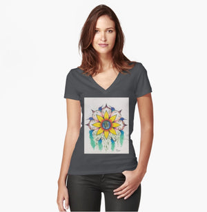 Symphony of Summer women's fitted T-shirt - Nora Catherine
