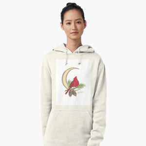 Cardinal pull over hoodie - Nora Catherine