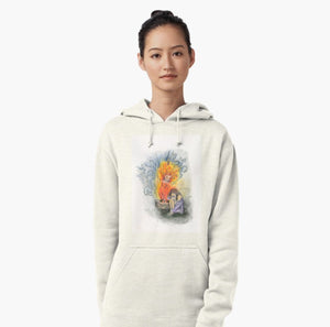 She Is Fire pullover hoodie - Nora Catherine