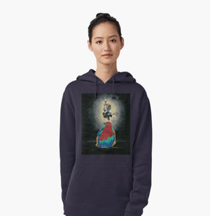 ATS tribal dancer pull over hoodie - Nora Catherine