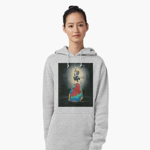 Tribal dancer pullover hoodie - Nora Catherine