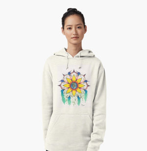 Symphony of Summer pullover hoodie - Nora Catherine