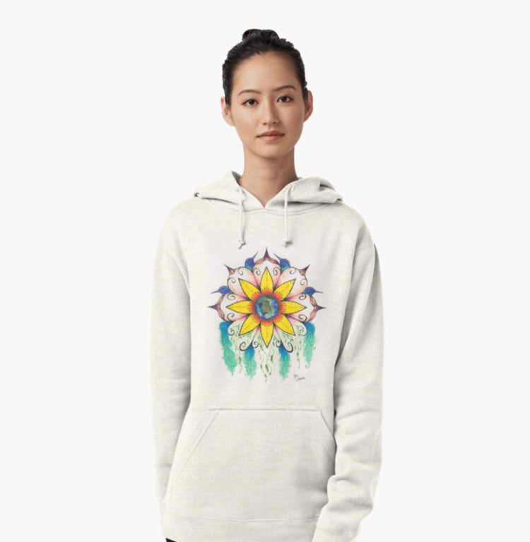 Symphony of Sunmer pull over hoodie - Nora Catherine
