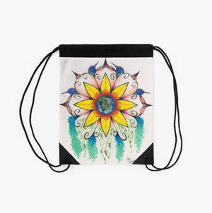 Symphony of Summer drawstring backpack/bag - Nora Catherine