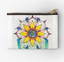 Symphony of Summer zip studio pouch - Nora Catherine