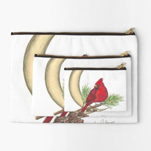 Cardinal moon studio pouch - Nora Catherine