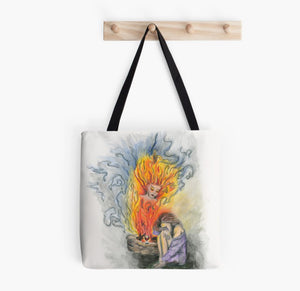 She Is Fire tote bag - Nora Catherine