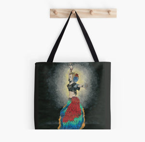 ATS Tribal Belly Dancer tote bag - Nora Catherine