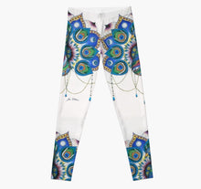 Peacock Art legging - Nora Catherine