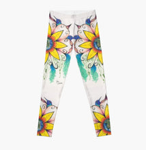 Symphony of Summer art legging - Nora Catherine